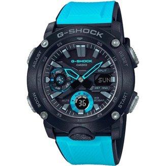 Relógio Casio G-Shock GA-2000-1A2DR Carbon Core Guard