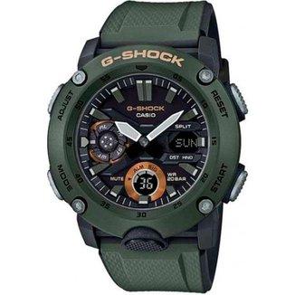 Relógio Casio G-Shock GA-2000-3ADR Carbon Core Guard Masculino