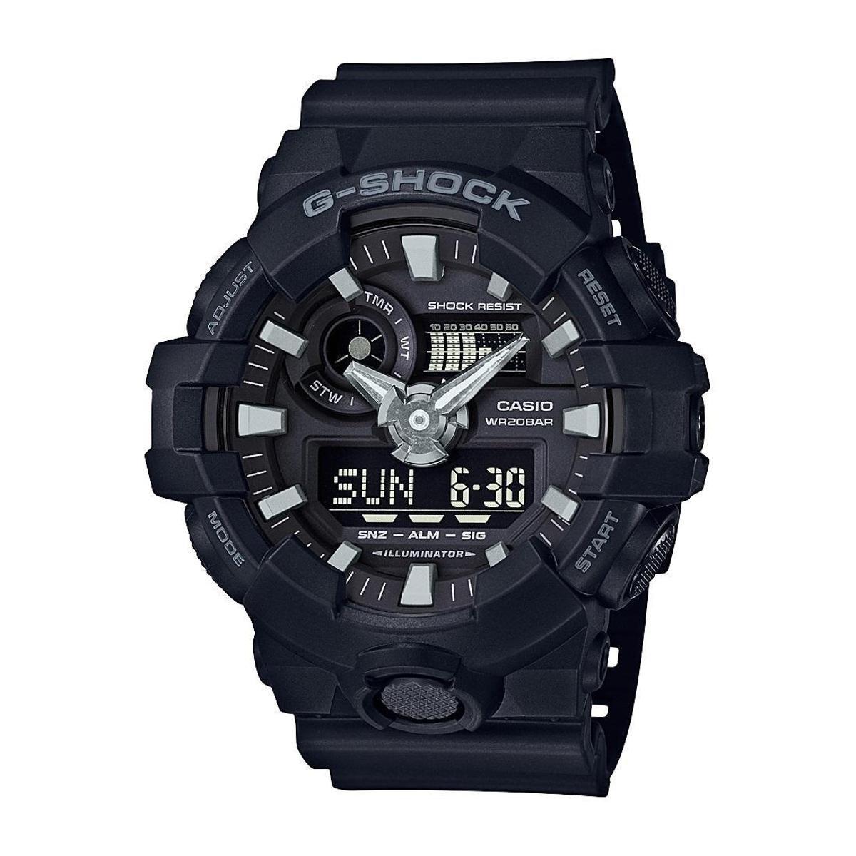 cda51b3742f Relógio Casio G-Shock GA-700-1BDR 53mm - Compre Agora