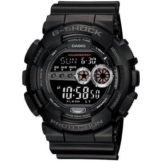 Relógio Casio G-Shock Gd-100-1Bdr - Preto