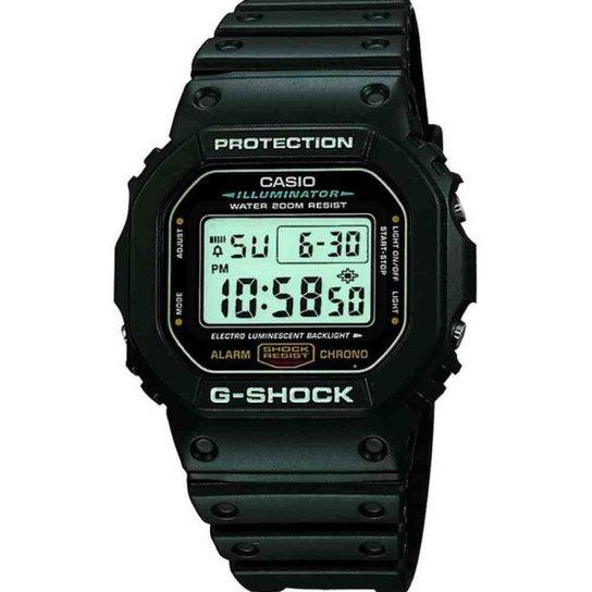 Relógio Casio G-Shock Masculino DW-5600E-1VDF - Preto