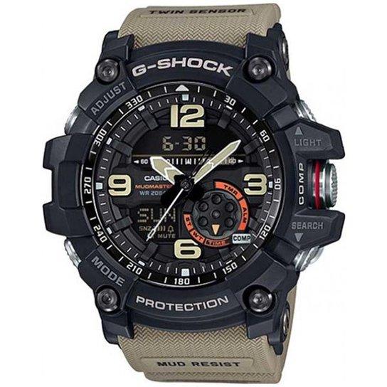 Relógio Casio G-Shock Mudmaster GG-1000-1A5DR Resistente a choques - Preto