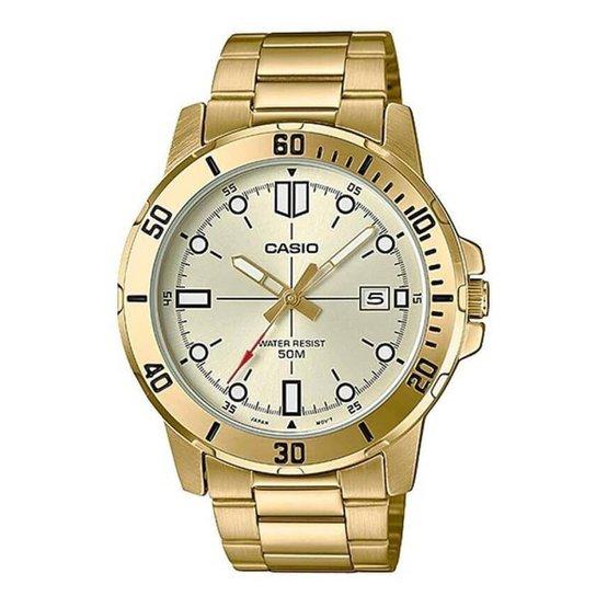 Relógio Casio Masculino - Dourado