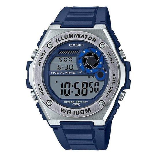 Relógio Casio Standard Masculino MWD-100H-2AVDF - Azul