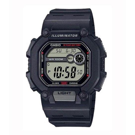 Relógio Casio Standard W-737H-1AVDF - Preto