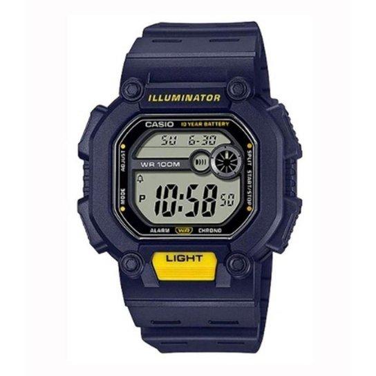 Relógio Casio Standard W-737H-2AVDF - Azul