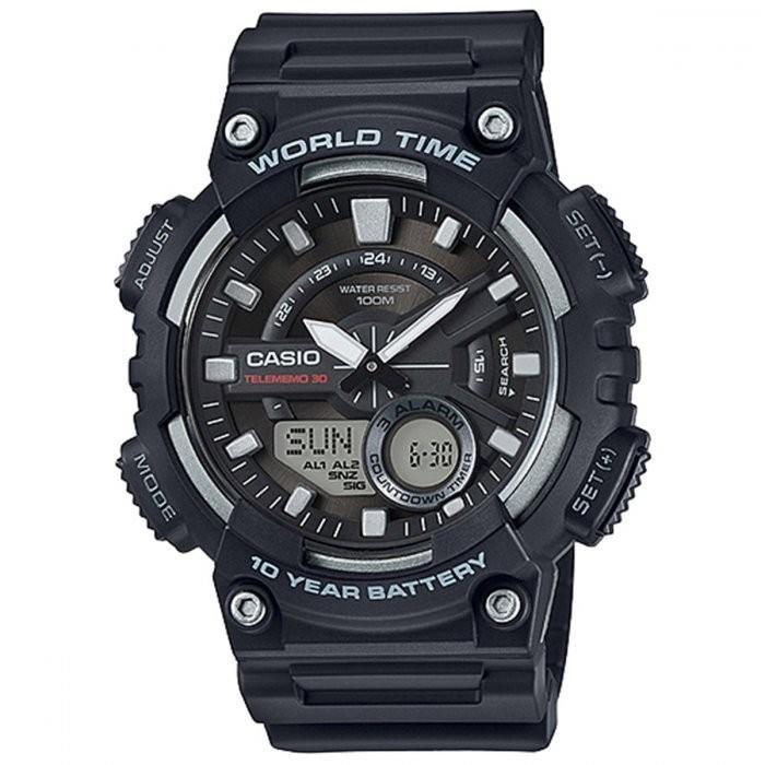 e9bb4c04615 Relógio Casio Telememo AEQ-110W-1AVDF - Compre Agora