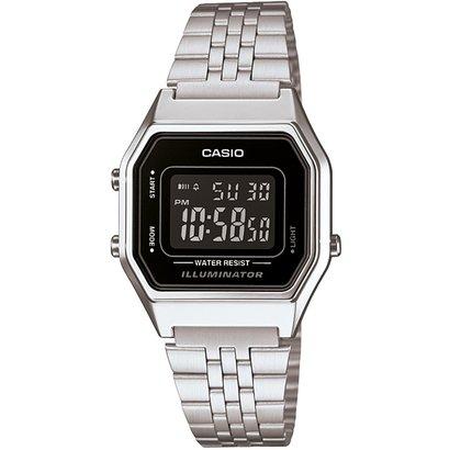 Relógio Casio Vintage - Feminino - Prata