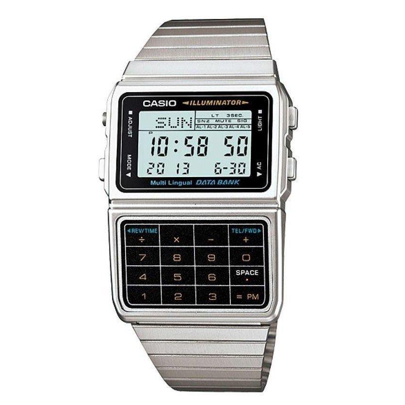 ad3f52e5575 Relógio Casio Vintage DBC-611-1DF Digital - Compre Agora