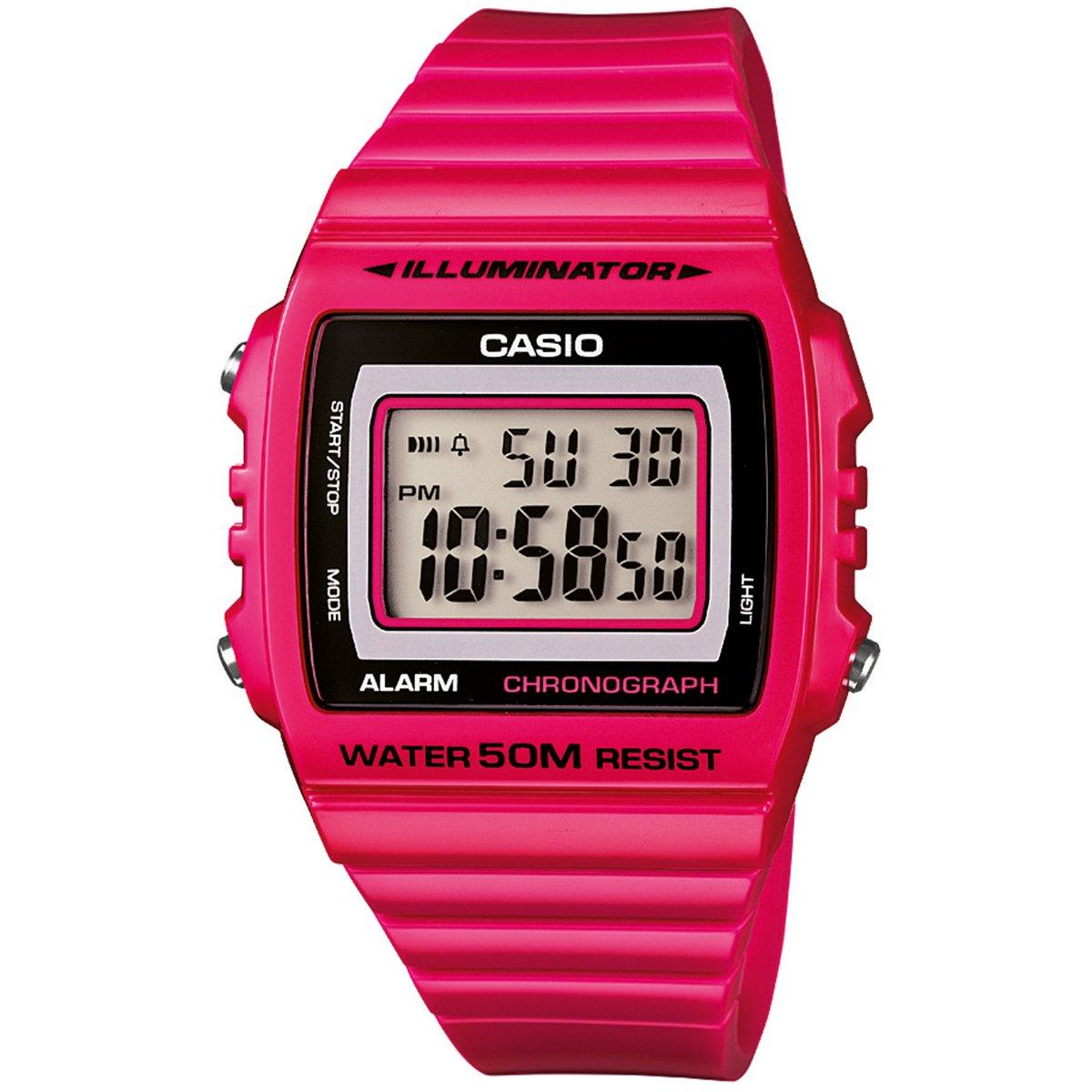 1185921986d Relógio Casio W-215H-4A - Pink - Compre Agora
