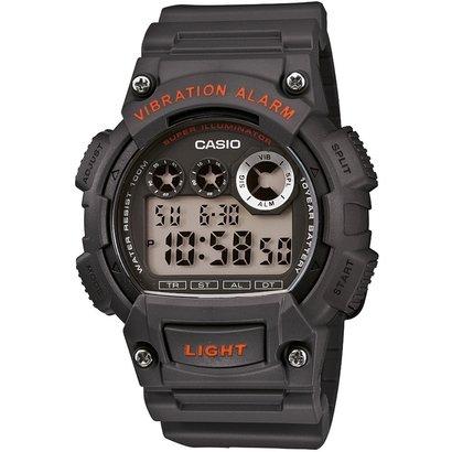 Relógio Casio W - 735H - 8A - Masculino - Chumbo