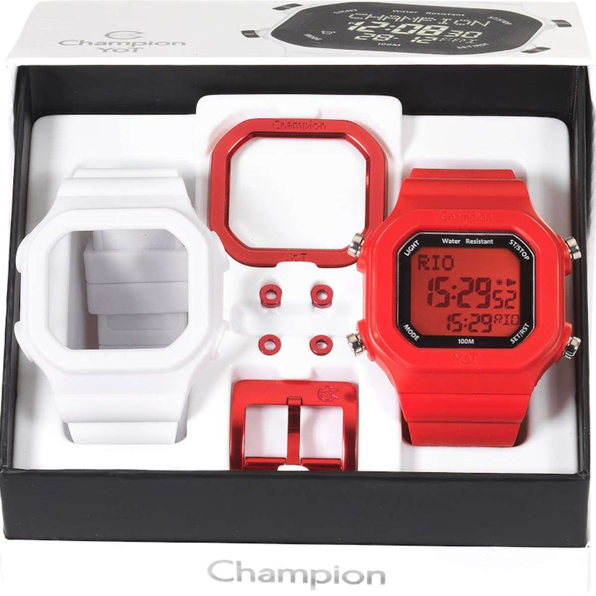 573f76f81f3 Relógio champion yot pulseiras e acessórios compre agora netshoes jpg  544x544 Relogio champion yot