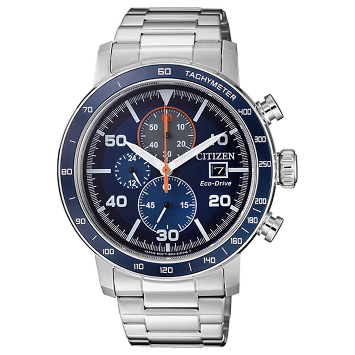 ae4a9f6a6ac Relógio Citizen Analógico TZ31187F Masculino - Prata - Compre Agora ...