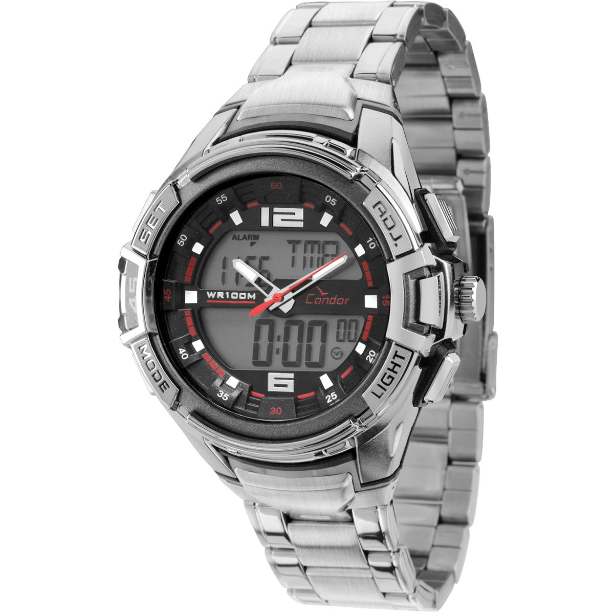Relógio Condor Anadigi - Compre Agora   Netshoes 9d02824536