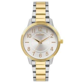 Relógio Condor Bicolor Dourado COPC21AEDSK5B Feminino