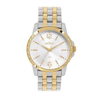 Relógio Condor Bicolor Prata COPC21AEFAK5K Feminino