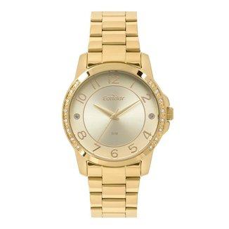 Relógio Condor Casual Dourado COPC21AEEXK4D Feminino