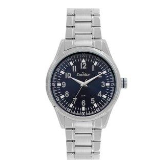 Relógio Condor Casual Prata CO2036KWDS4A Masculino