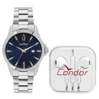 Relógio Condor Classic Prata COPC32BIK3A Masculino