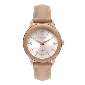 Relógio Condor Fashion Premium Rosê CO2035MVN5M Feminino