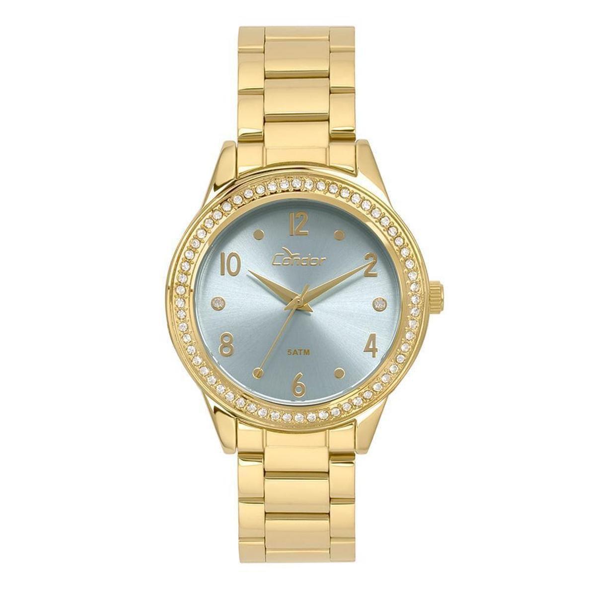 ff18153cab9 Relógio Condor Feminino Bracelete CO2036KUI K4A CO2036KUI K4A - Dourado -  Compre Agora
