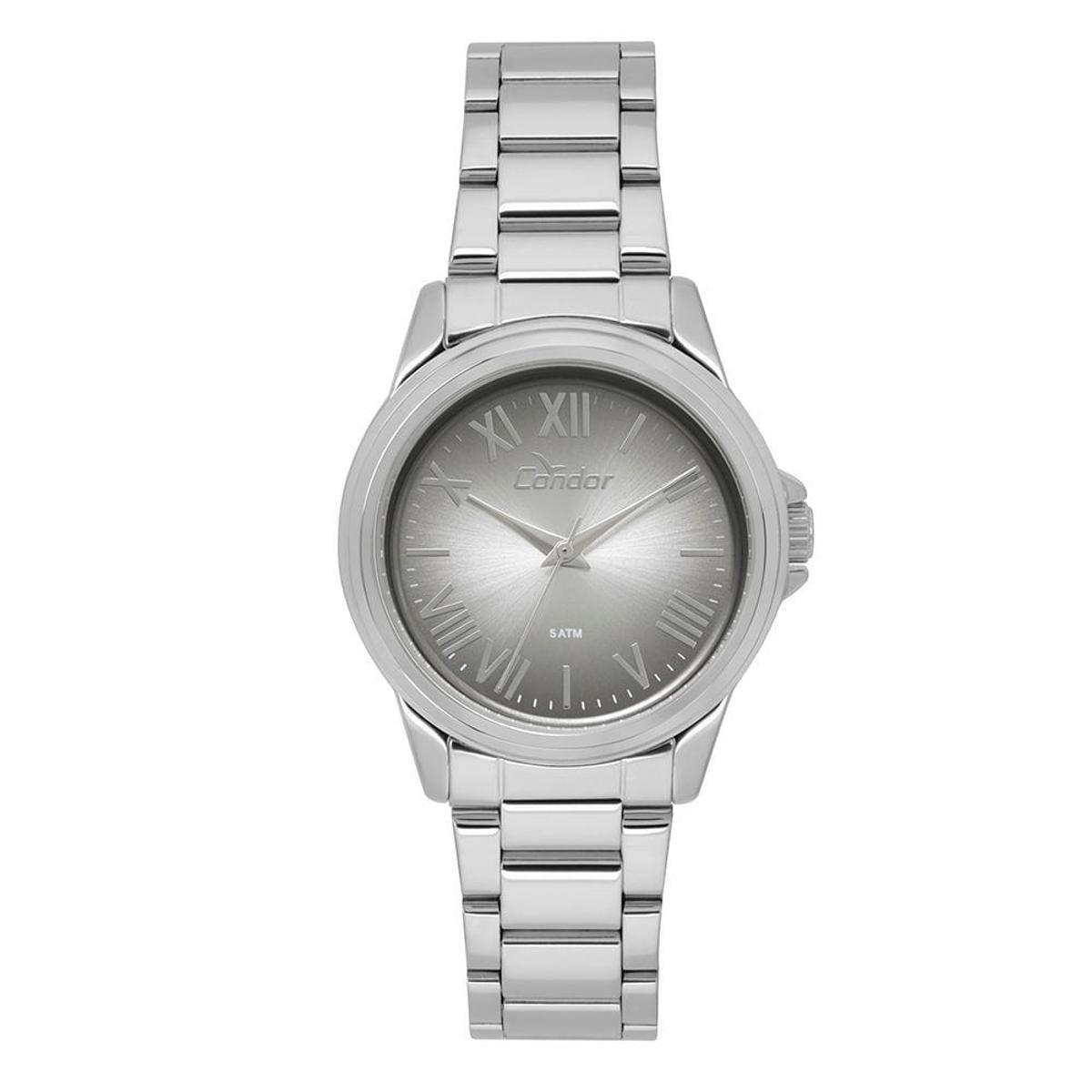 cccd51d870b Relógio Condor Feminino Bracelete - CO2039BE 3C CO2039BE 3C - Prata -  Compre Agora