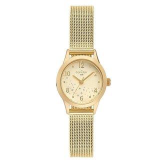 Relógio Condor Feminino  Dourado Analógico COPC21AEBU4D