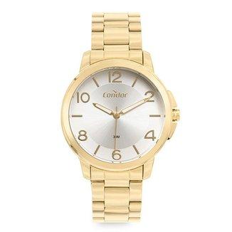 Relógio Condor Feminino  Dourado Analógico COPC21AECWK4K