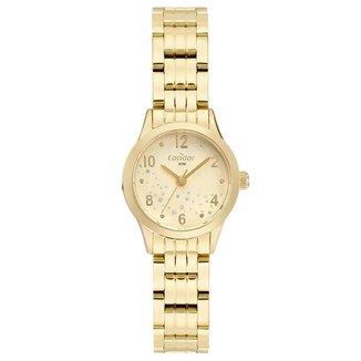 Relógio Condor Feminino  Dourado Analógico COPC21AEDJ4X