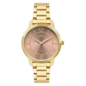 Relógio Condor Feminino  Dourado Analógico COPC21AEDNK4M