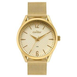 Relógio Condor Feminino  Dourado Analógico COPC21AEEF4D