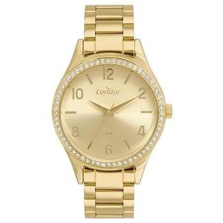 Relógio Condor Feminino  Dourado Analógico COPC21AEFD4D