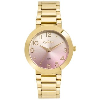 Relógio Condor Feminino  Dourado Analógico COPC21JBQ4T