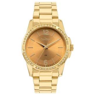 Relógio Condor Feminino  Dourado Analógico COPC21JBZK4X