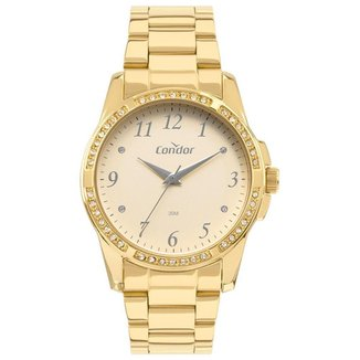 Relógio Condor Feminino  Dourado Analógico COPC21JCAK4D