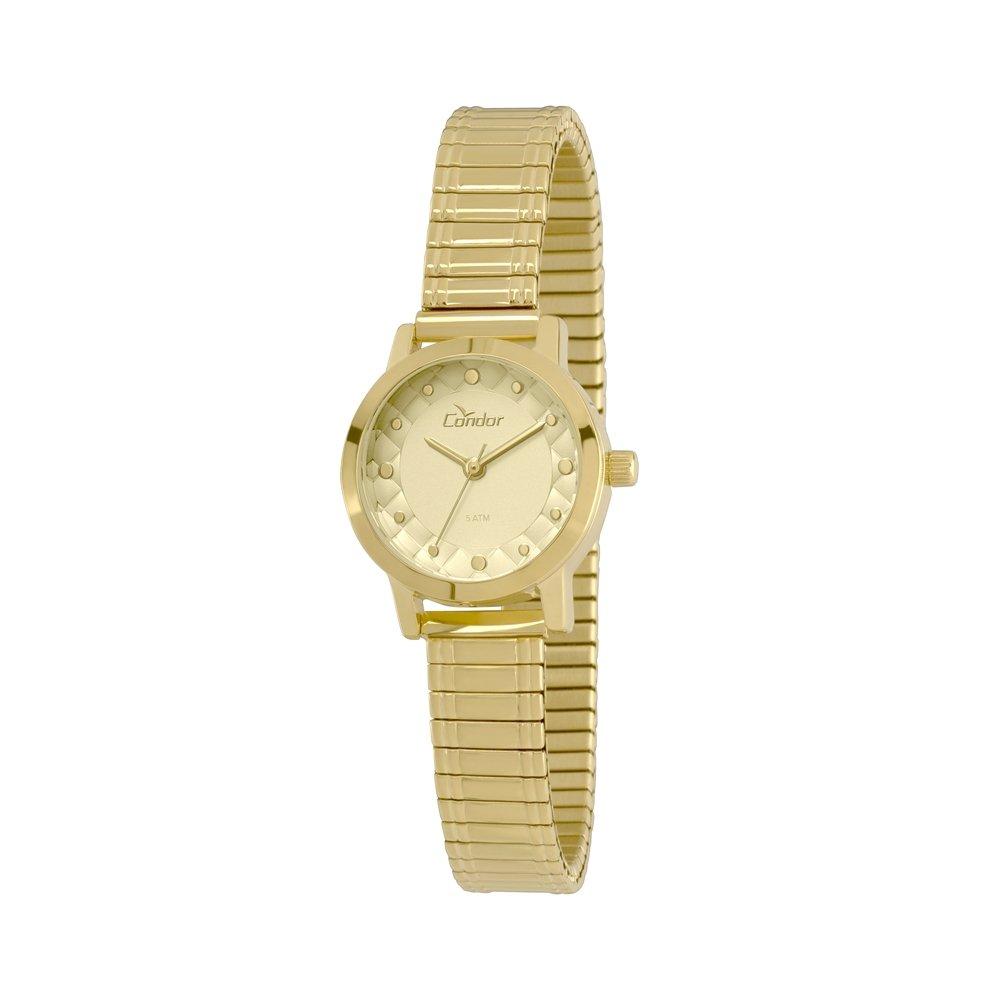 15079c083f841 Relógio Condor Feminino Mini - Dourado - Compre Agora