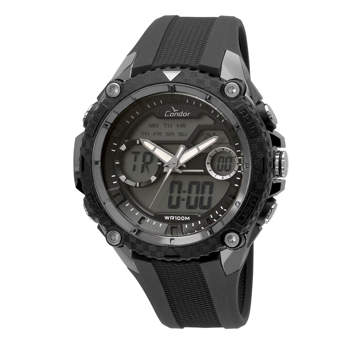 be3b62841ad Relógio Condor Masculino COAD1146AB 8P - Preto - Compre Agora