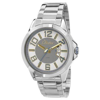 Relógio Condor Pulseira Metal - Masculino - Prata
