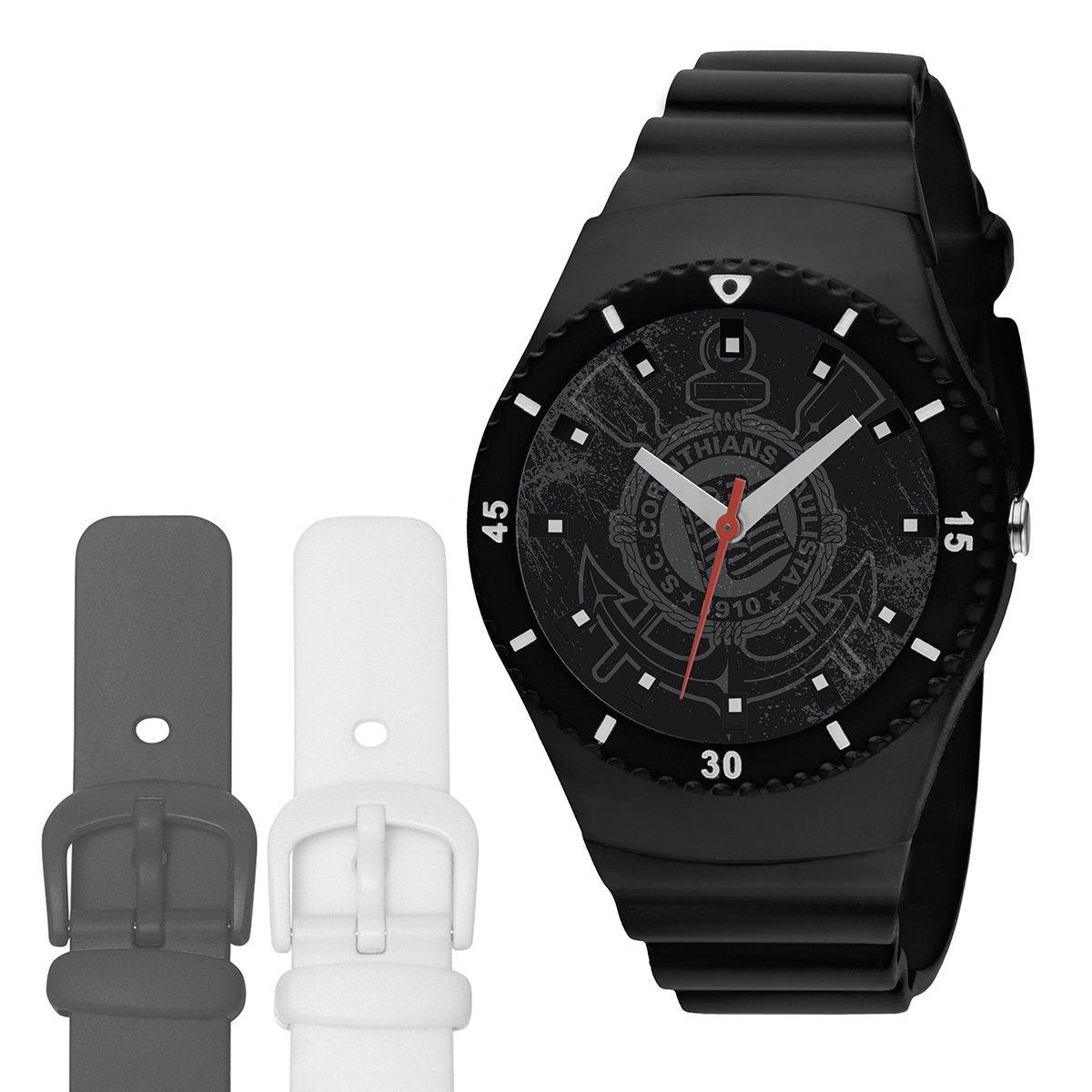 20f606d0aee Relógio Corinthians Technos Analógico com Pulseira para Troca - Compre  Agora