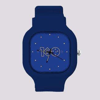 Relógio Cruzeiro Centenário Azul