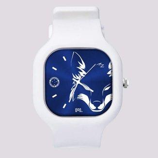 Relógio Cruzeiro Raposa Branco