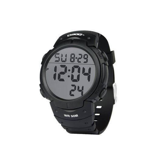 Relógio Dagg Digital Watch Gear Running Fit - Preto