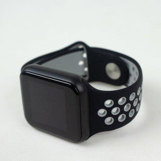 Relógio Dagg Smartwatch Running Pró Fit - Cinza+Preto