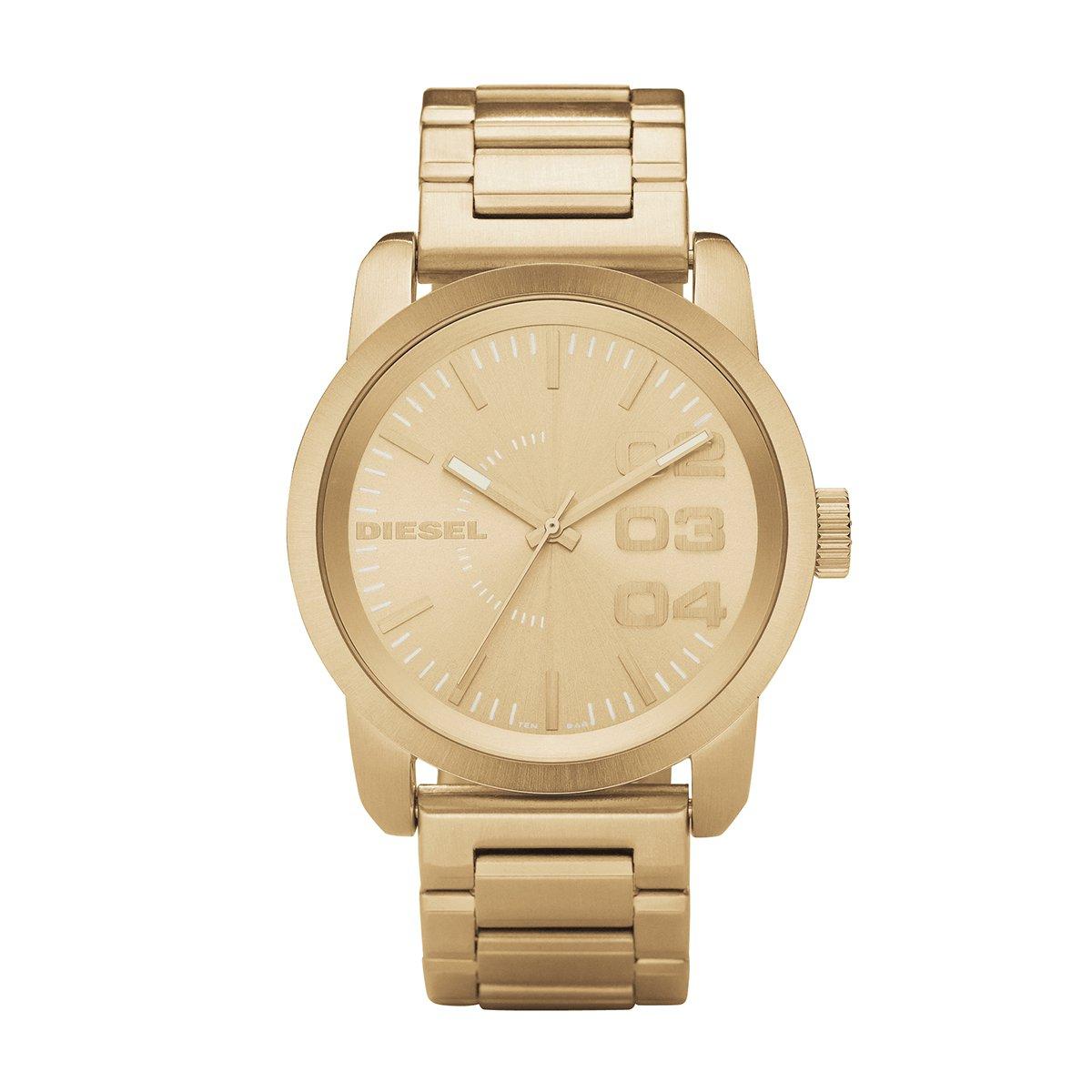 ffbba82e504 Relógio Diesel Analógico Dourado - Compre Agora