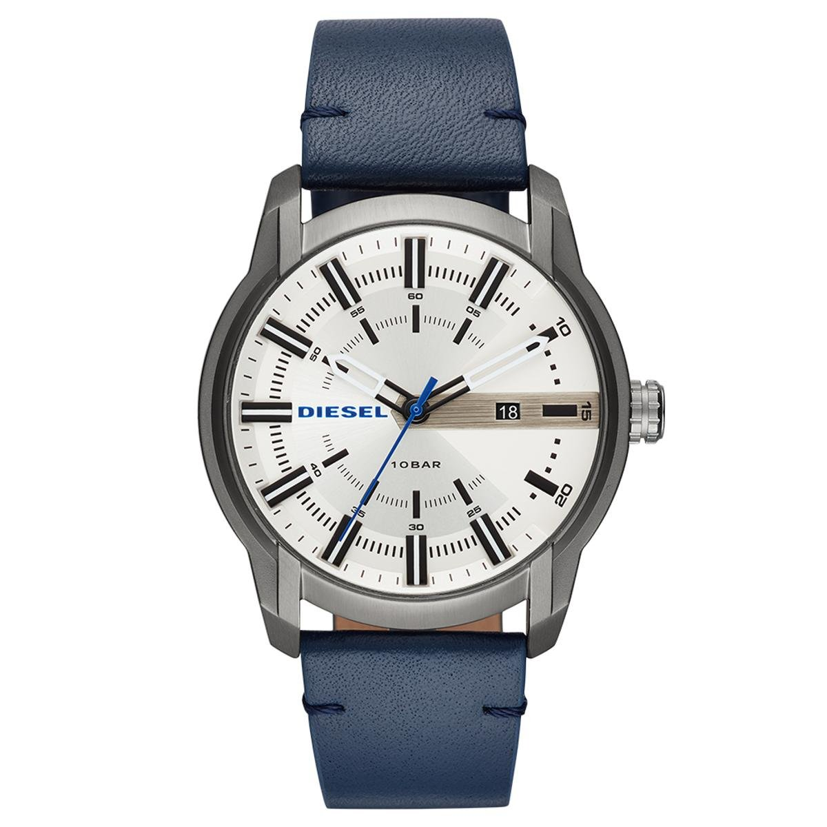 c609d6ff3f4 Relógio Diesel Masculino Armbar - DZ1866 0AN DZ1866 0AN - Azul - Compre  Agora