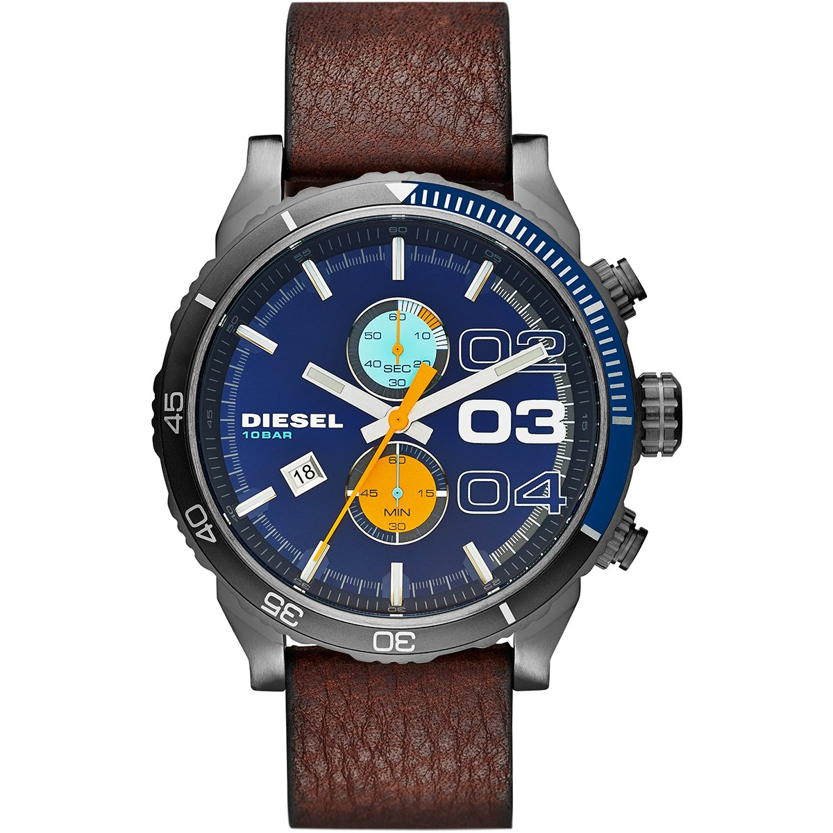 387e0285142 Relógio Diesel Pulseira Couro - Compre Agora