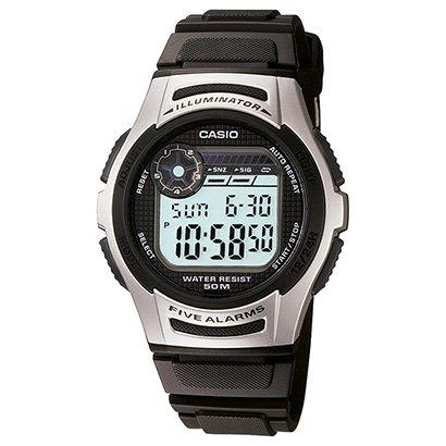 Relógio Digital Casio W-213-1AVDF Masculino - Unissex