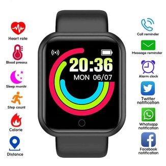 Relógio Digital Esporte Bracelete Led Adulto Infantil Smart