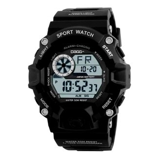 Relógio Digital Esportivo Dagg Black Army
