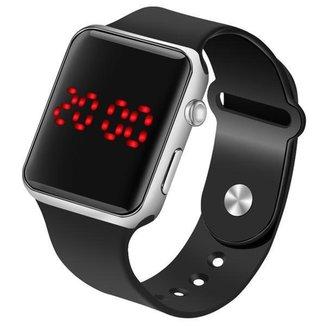 Relógio digital led relógio de pulso masculino relógio de pulso feminino esporte